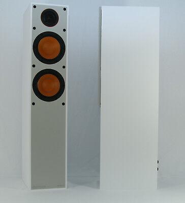 Monitor Audio Monitor 200 Standlautsprecherpaar in Nußbaum Schwarz und Weiß (Baum Monitor)