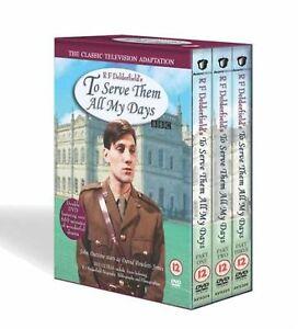 To Serve Them All My Days -Series 1-3 Parts 1-3 John Duttine, Frank 1980 New DVD