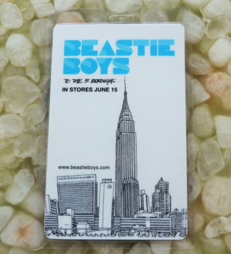 BEASTIE BOYS TO THE 5 BOROUGHS promo only laminate vintage 2004 record store MCA