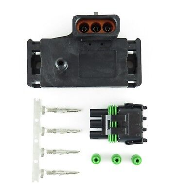 GM 2 BAR MAP SENSOR W/ CONNECTOR KIT MADE IN THE USA FREE SHIPPING BEST OFFER! Gm 2 Bar Map-sensor