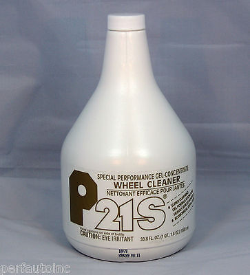 P21S® GEL WHEEL CLEANER 1000ML REFILL ALLOY CHROME RIMS RECOMMENDED FOR BMW -
