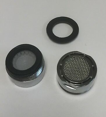2 Pc  Low Flow 1.5 GPM Water Sense Standard Faucet Aerators Water Saving Tool Low Flow Aerator