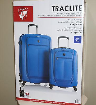 Heys Traclite 2-PC Set 4-Wheel Lightweigh Hybrid Spinner Luggage 30