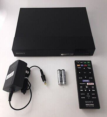 Sony BDP-S3700 Blu-Ray and DVD Player Full HD 1080p Built in Wi-Fi with Apps