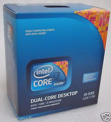 Intel Bx80616i3530 Slblr Core I3-530 4m Cache 2.93 Ghz Lga1156 Retail Box