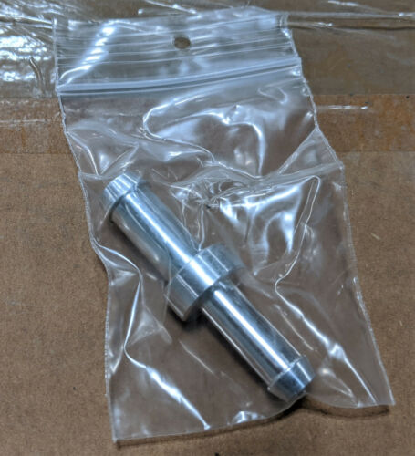 Pack of 10, C&R 3/8 to 5/16 Hose Barb Adapter, Aluminum, Import Models