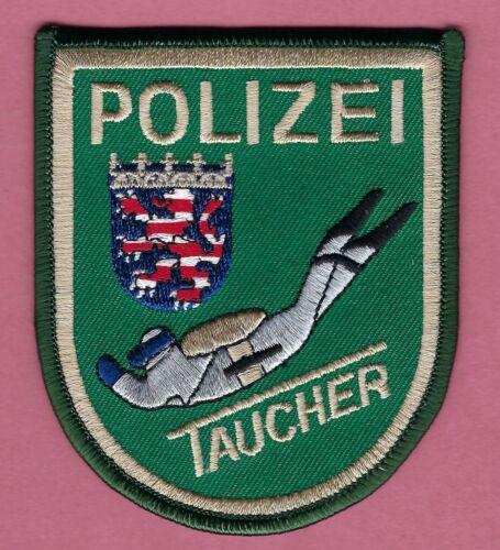 GERMAN POLIZEI POLICE SCUBA DIVER PATCH