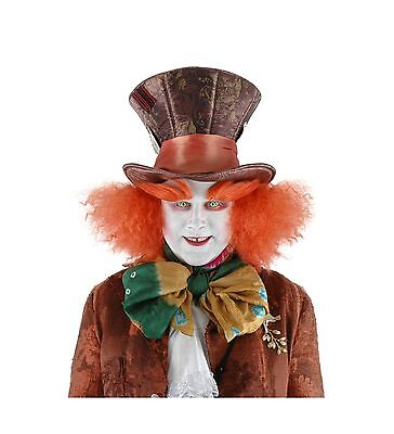 Mad Hatter Eyebrows (Alice In Wonderland Mad Hatter Costume Eyebrows Accessory One S... Free)