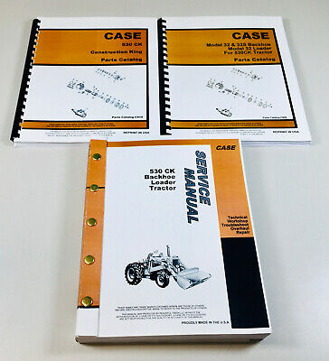 Case 530 Parts   Owner's Guide to Business and Industrial