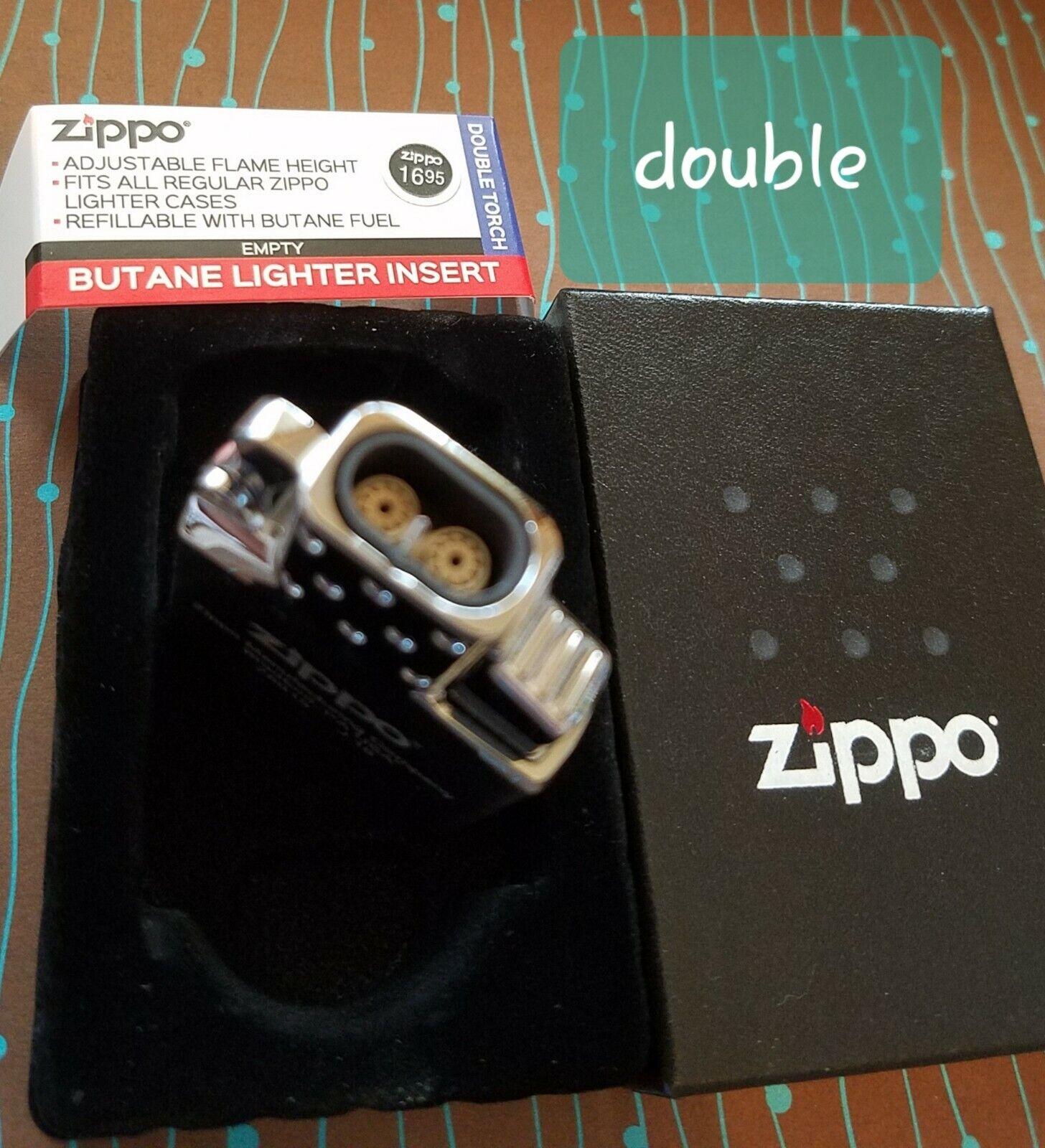 Zippo 65827 Double Torch Butane Lighter Insert Unfilled NEW