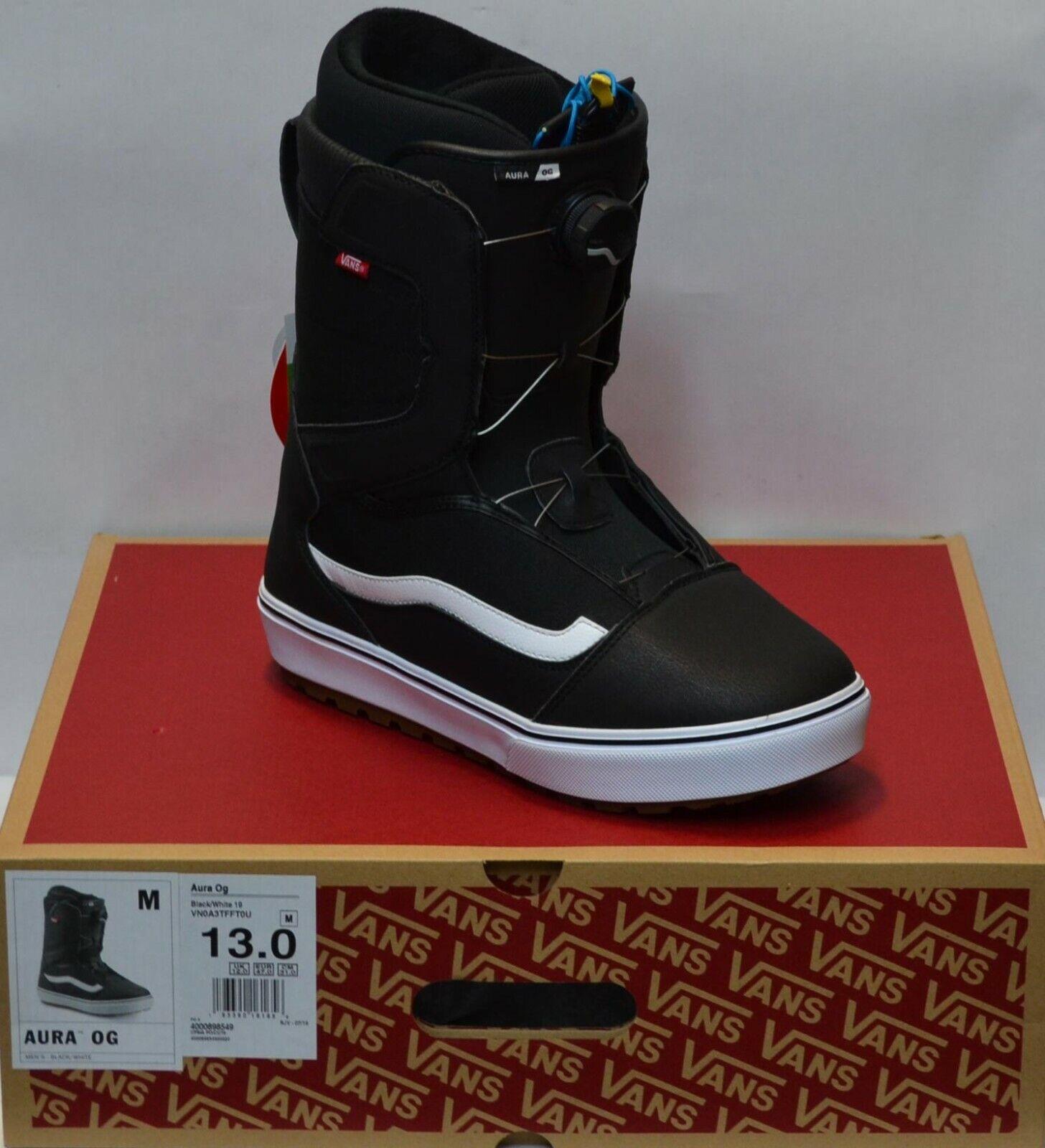 '19 / '20 Vans Aura OG Boa Size 13 Men's Snowboard Boots - C