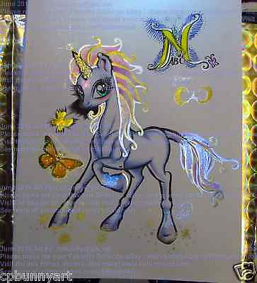 Orig Change a Changeling CAC Alayer's friend CHIBI Nabi the Unicorn Art Sketch!
