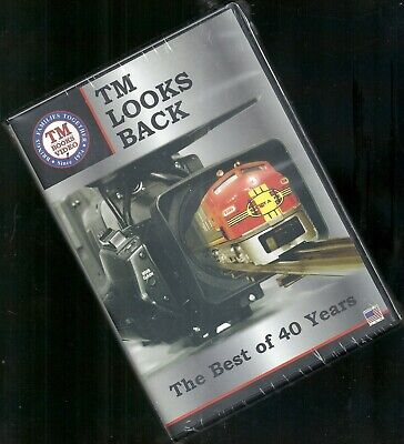 DVD TM Looks Back The Best of 40 Years NEW model toy trains Lionel Hi-rail