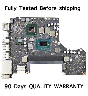 """MD102LL/A 2.9GHZ Logic Board 820-3115-B for Apple MacBook Pro 13"""" A1278 2012, used for sale  Shipping to India"""