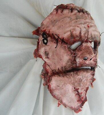 Halloween Serial Killer Mask (HORROR MASK CUSTOM HALLOWEEN SKINNED FACE BUTCHER SLASHER ED GEIN SERIAL)