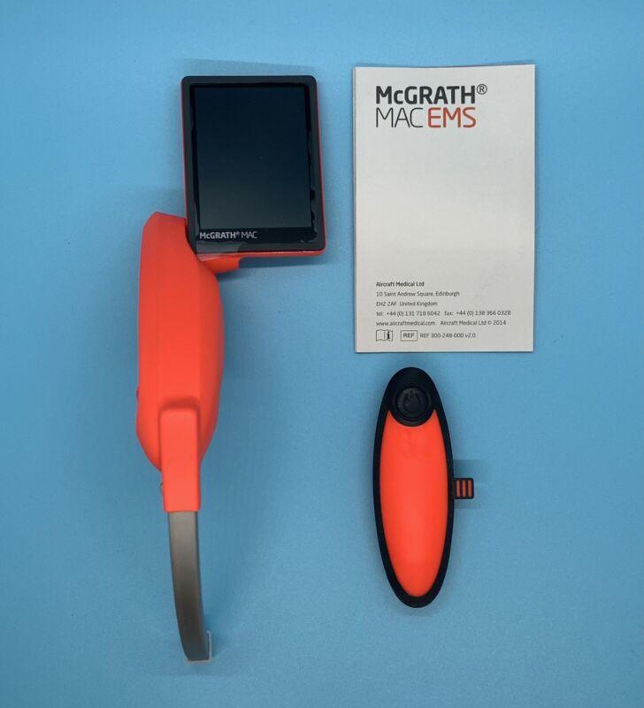 STRYKER McGrath MAC EMS Video Laryngoscope - BRAND NEW with Seller Warranty