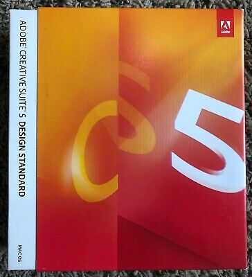 CS5 Adobe Creative Suite 5 Design Standard Full Version Mac Photoshop Acrobat