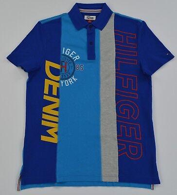 NWT Men's Tommy Hilfiger Denim Short-Sleeve Polo Shirt S M L XL XXL
