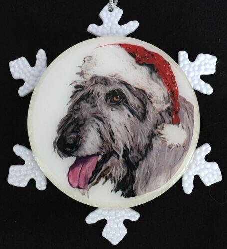 Irish Wolfhound Dog Christmas Ornament
