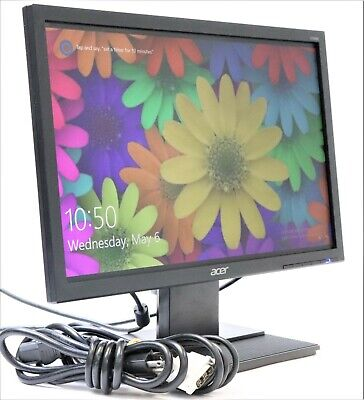 "Acer V196WL 19"" 1440 x 900 Widescreen LED-backlit LCD Monitor w/ Stand and Cable"