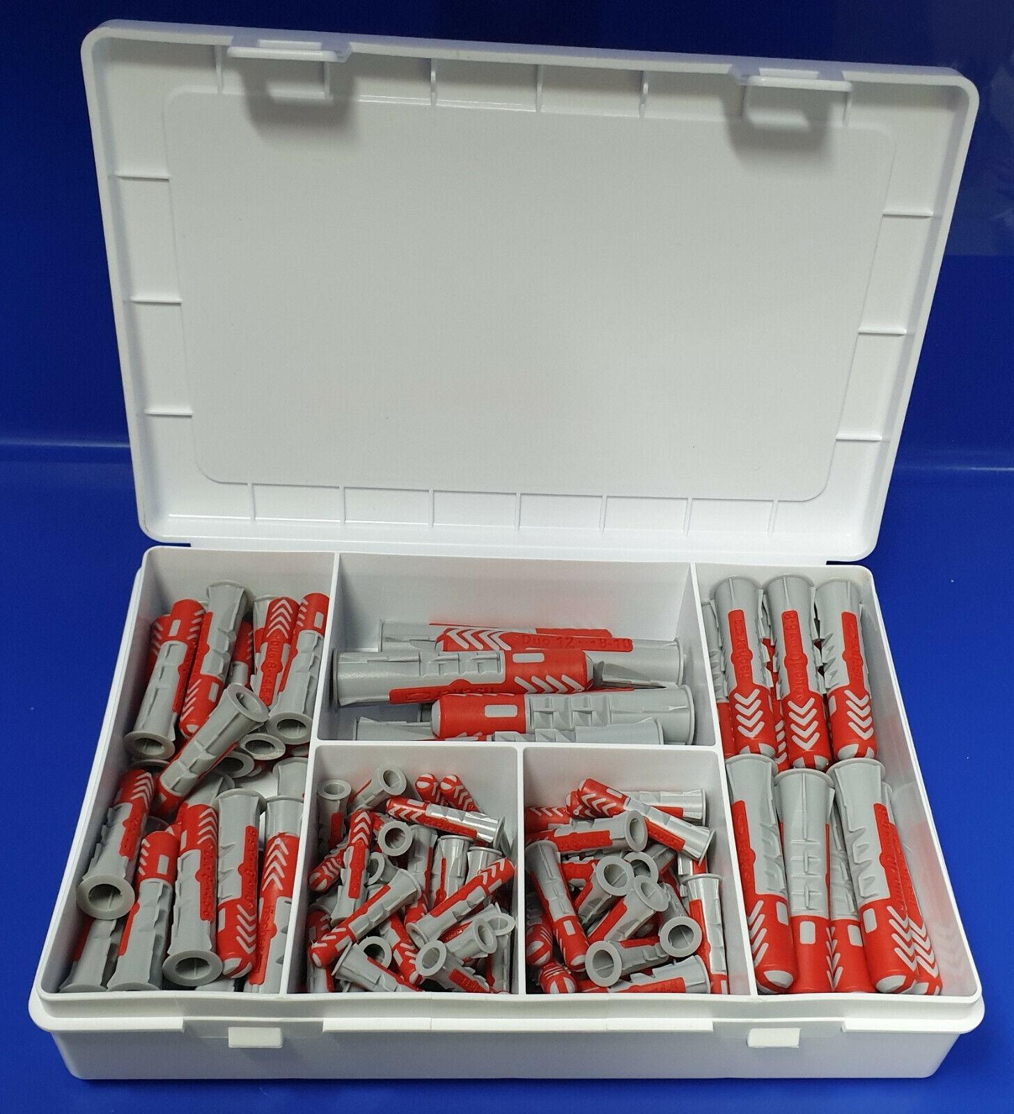 Fischer Dübel Schrauben Sortiment 220 Teile FIXtainer SX-Dübel-Box L-boxx mini