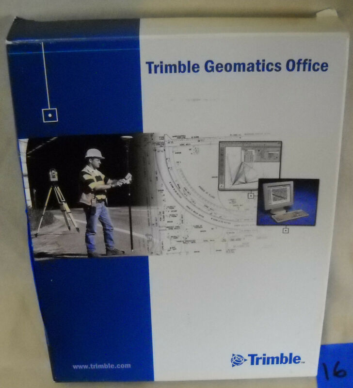 TRIMBLE GEOMATICS OFFICE Software Version 1.62