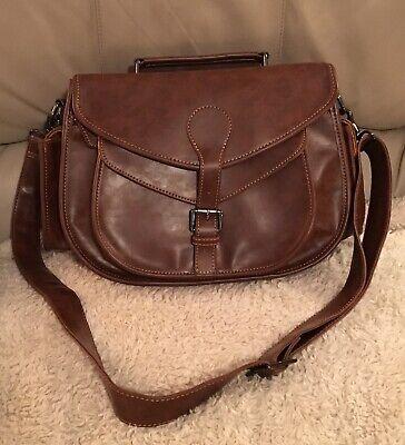 - Purple Relic Women's Camera Bag Shoulder Crossbody Handbag Brown - FREE SHIPPING