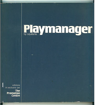 SQUILLANTE PLAYMANAGER THE PROMOTION CENTRE 1977 UMORISMO SATIRA ECONOMIA