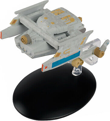 #140 Federation Tug Starship Star Trek Eaglemoss UK Metal Ship-Mailed from USA