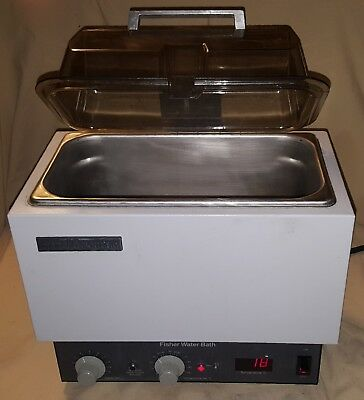 Fisher Scientific 5 Liter Water Bath W Digtal Display