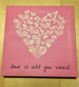 Frame canvas all you need is love