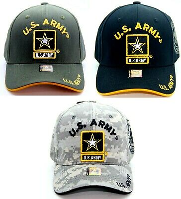 US ARMY VETERAN MILITARY CAP HAT OFFICIAL LICENSED BASEBALL ADJUSTABLE SIZE