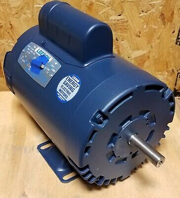 Brand New Leeson 2 Hp Single Phase Motor 110232.00  58 Diameter Shaft