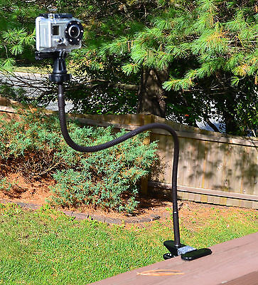 Tree Stand Trail Hunting Extra Long Bendy Mount For Gopro...