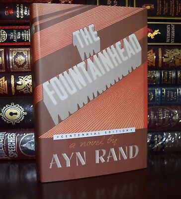The Fountainhead by Ayn Rand Brand New Centennial Deluxe Hardcover Gift