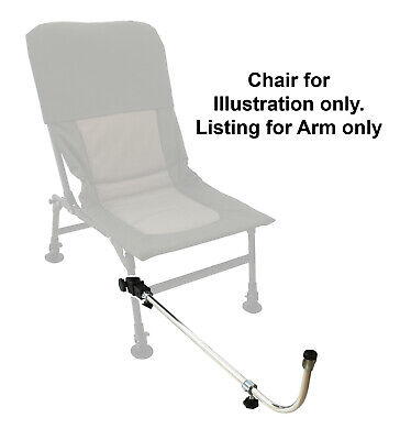 MDI Chair Extendable Fishing Quick Release Feeder-Method Arm Rest 75-120cm
