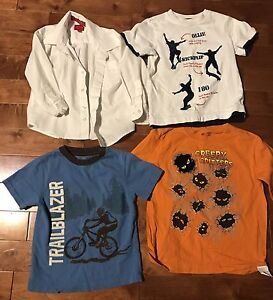 6 piece clothing lot for boy size 4-5