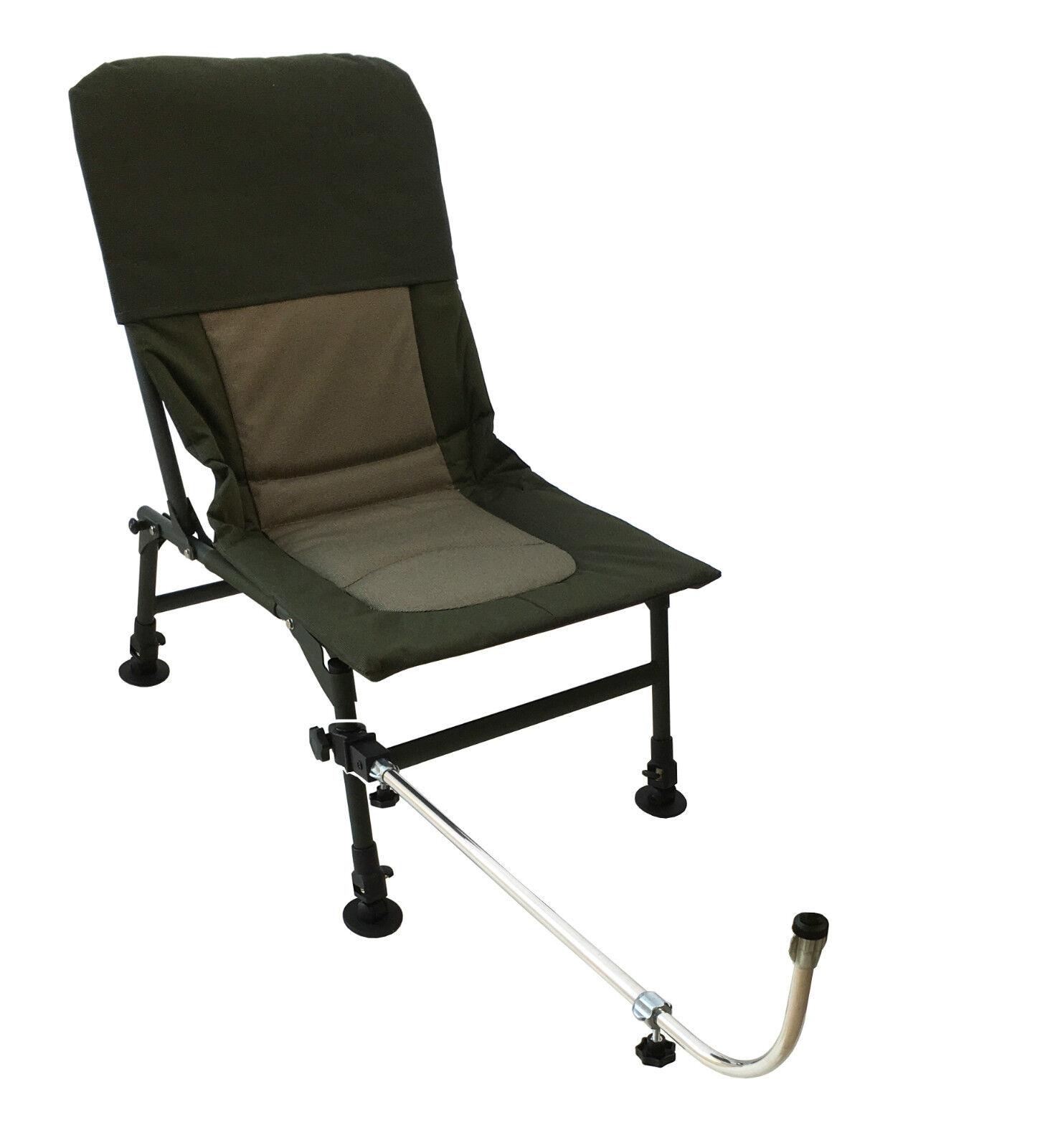MDI Match Chair Extendable Adjustable Tilt Fishing Feeder-Method Arm Rest