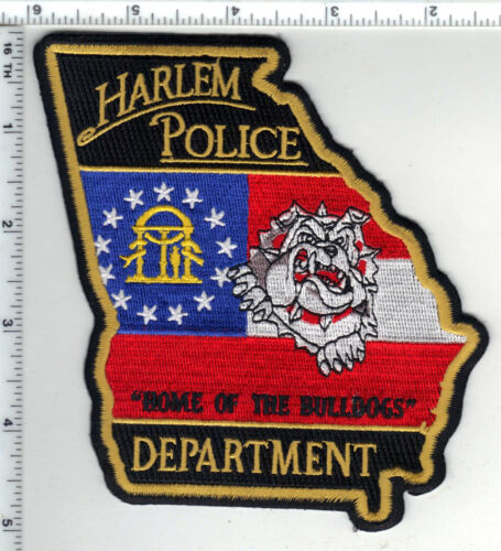 Harlem Police (Georgia) Shoulder Patch - new from 1990