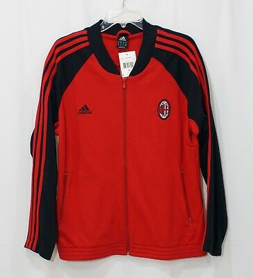 Adidas AC Milan Track Jacket Red  Black Sz XL NEW 5980f2ce2f952