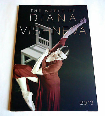THE WORLD OF DIANA VISHNEVA SOUVENIR PROGRAM BOOK JAPAN 2013 BALLET LUIGI BONINO