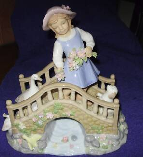 Cosmos Idle Time Girl On Bridge Figurine Uralla Uralla Area Preview