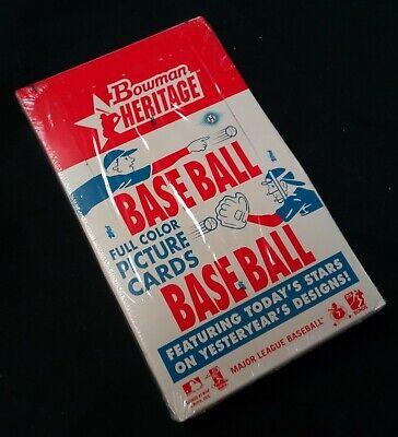 2006 Bowman Heritage Baseball Factory Sealed Hobby Box Bowman Heritage Baseball Hobby Box