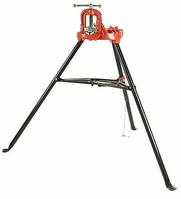 Ridgid 40130 40-a Portable Tristand Yoke Vise 18 - 2 12 Reconditioned