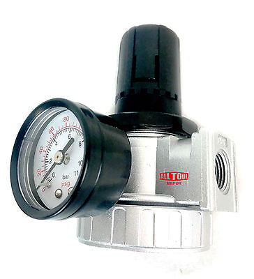 12 Air Pressure Regulator For Compressed Air Compressor W Gauge Max 150psi