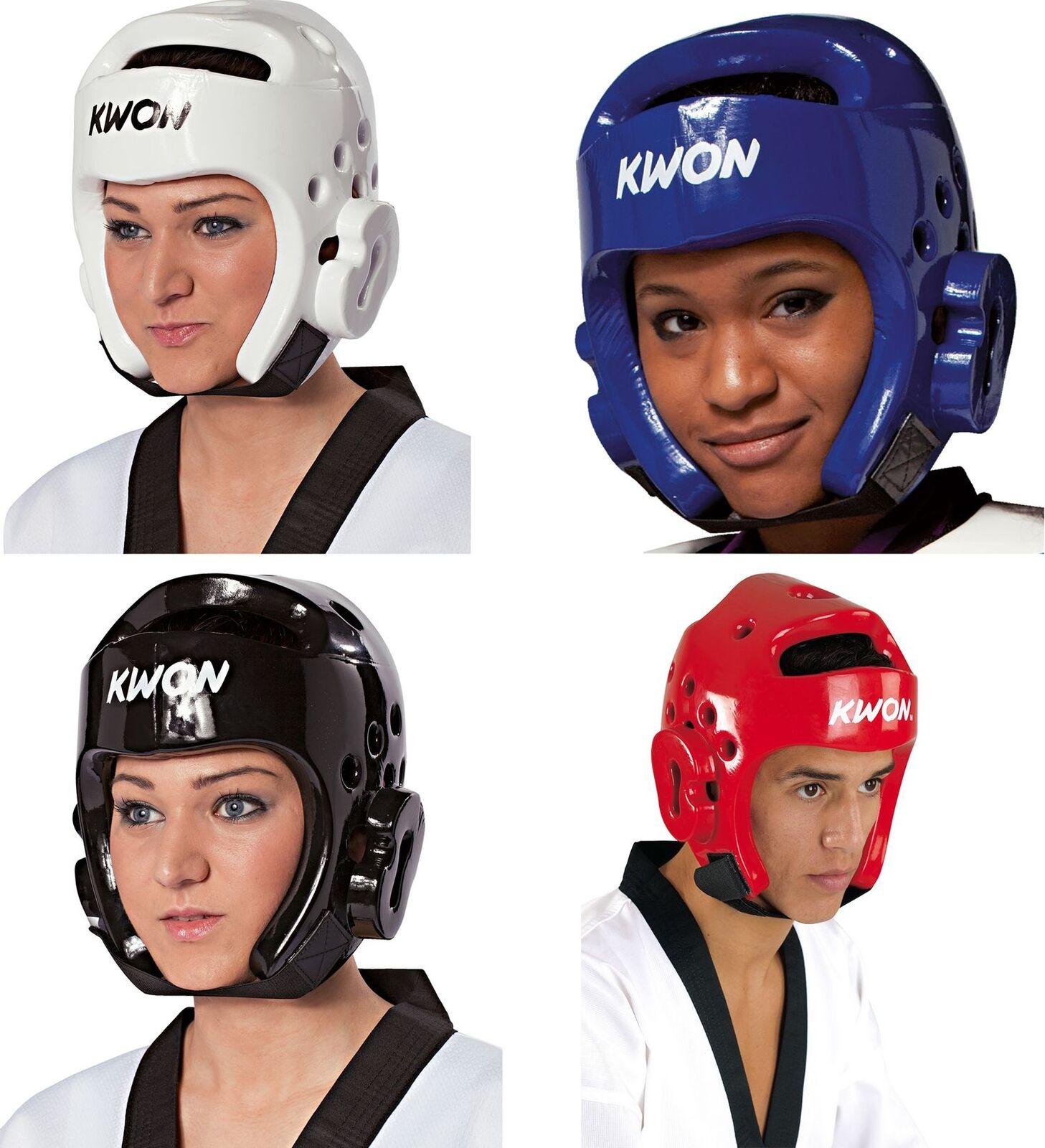 Kwon Kopfschützer Kopfschutz Kickboxen Taekwondo Karate WTF Helm Pointfighting