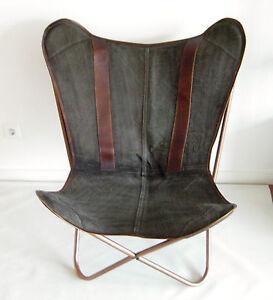 Sessel HOME ART Butterfly Chair Schmetterlingsstuhl Shabby NEU OVP UVP 499,00€