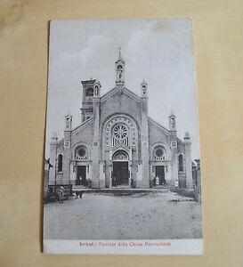 CARTOLINA-TORINO-LEYNI-CHIESA-PARROCCHIALE-VIAGGIATA-DEL-1927-SUBALPINA