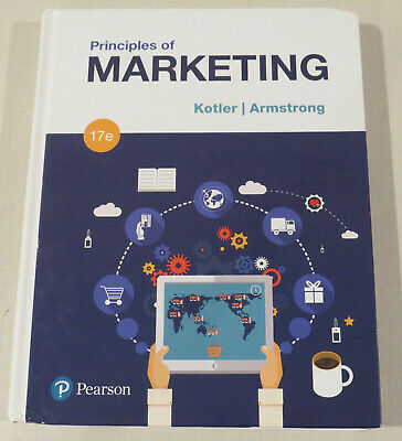 Used, Principles of Marketing 17e by Armstrong & Kotler (2017, Hardcover) for sale  Shipping to South Africa