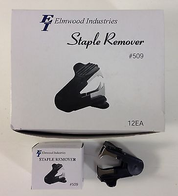 Elmwood Industries Staple Removers Model 509 Black New Wholesale Case Lot Of 12